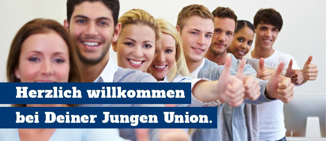 Herzlich Willkommen bei Deiner Jungen Union.